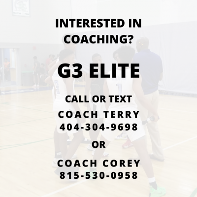 G3 ELITE NEED COACHES